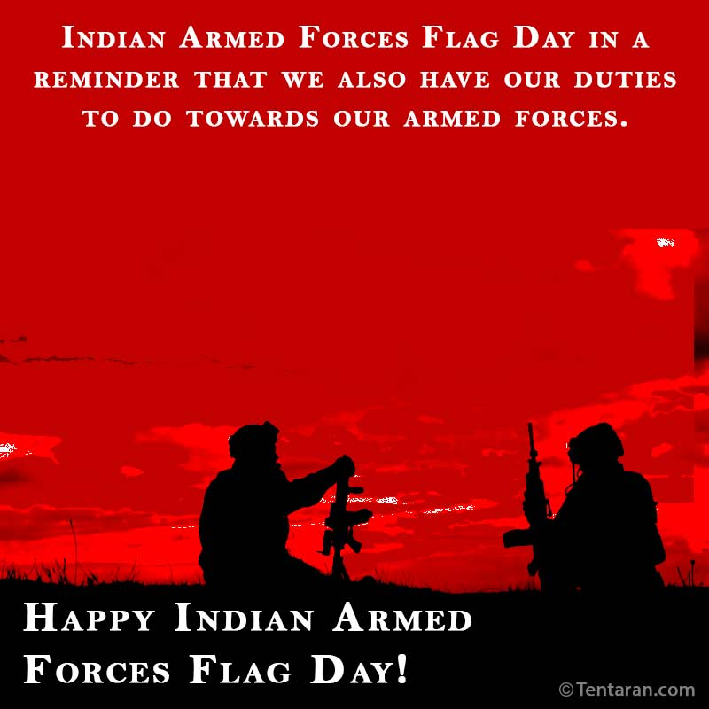 indian armed forces flag day images quote3