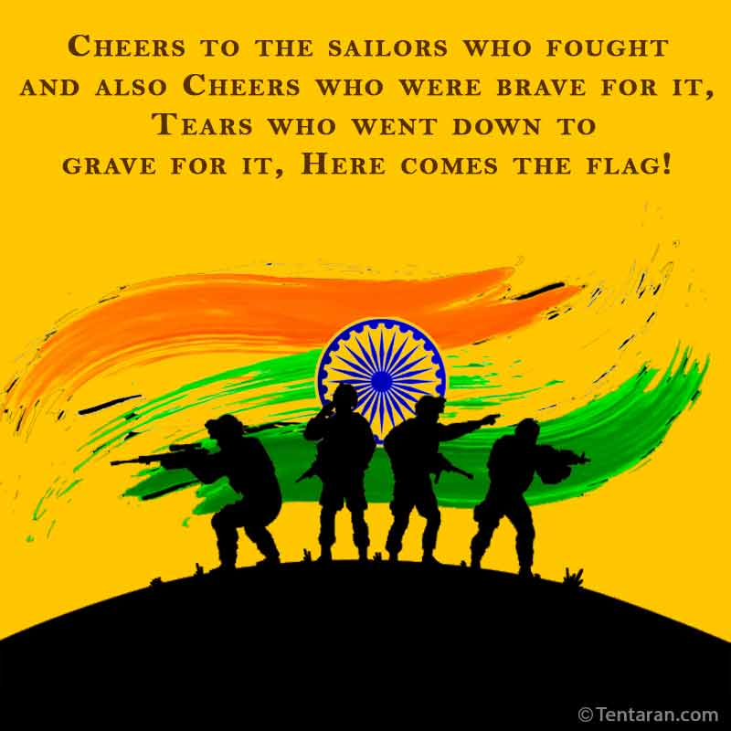 indian armed forces flag day images quote7