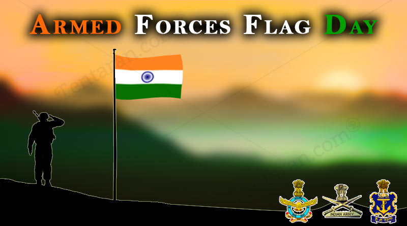 indian armed forces flag day images quotes