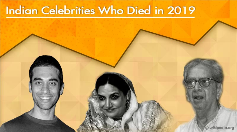 indian celebrities who died in 2019