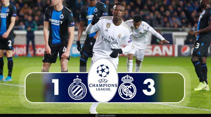 ucl 2019 club brugge vs real madrid highlights