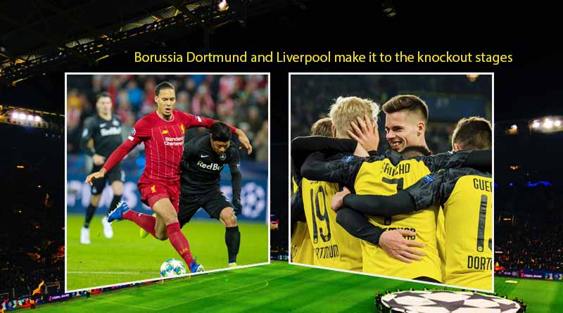 UCL 2019: Borussia Dortmund and Liverpool make it to the knockout stages