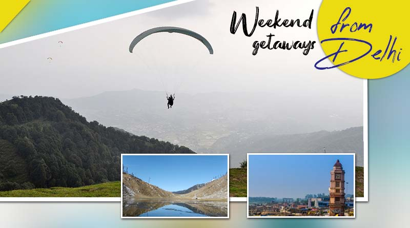 weekend getaways from delhi india