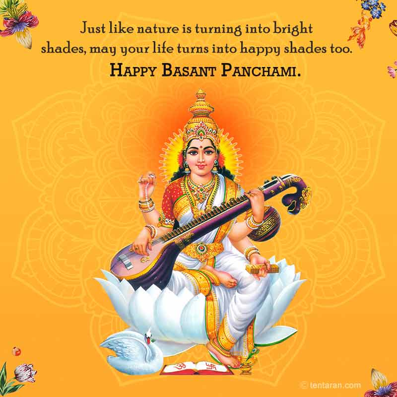 Basant panchmi quotes wishes english images whatsapp messages10