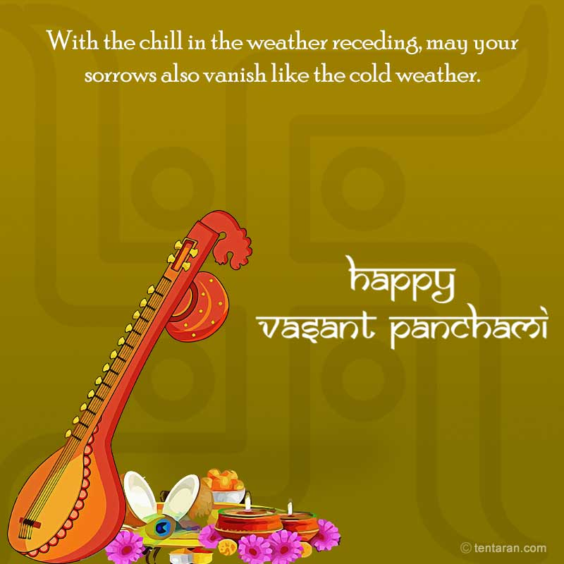 Basant panchmi quotes wishes english images whatsapp messages4