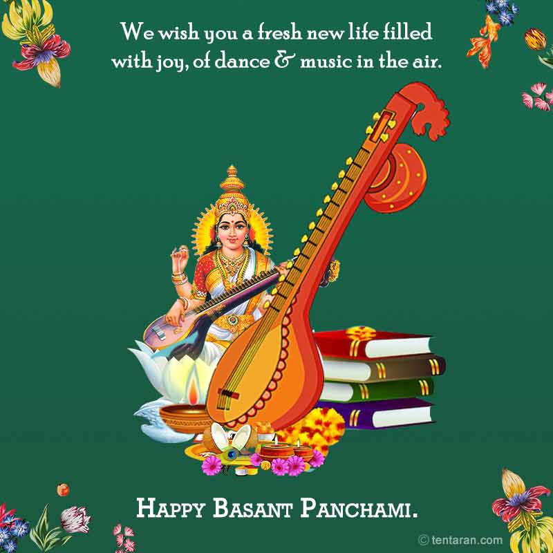 Basant panchmi quotes wishes english images whatsapp messages7