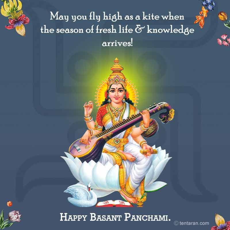 Basant panchmi quotes wishes english images whatsapp messages9