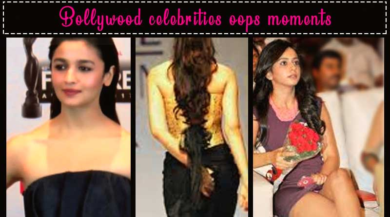 bollywood celebrities oops moments