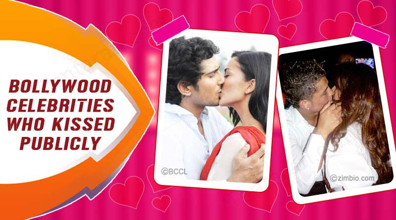 bollywood celebrities who kissed in public places