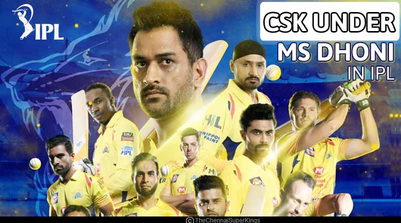 chennai super kings winning list