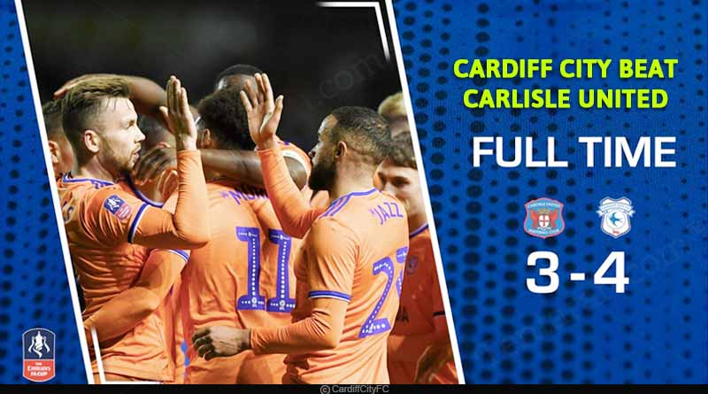 fa cup 2020 cardiff city vs carlisle united highlights