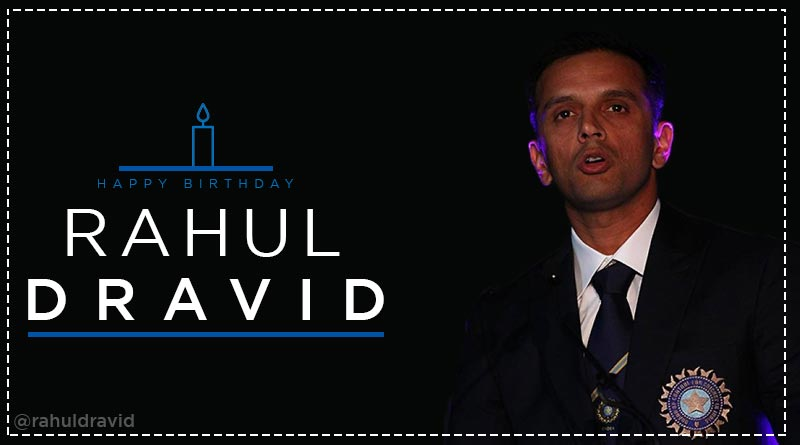 happy birthday rahul dravid images