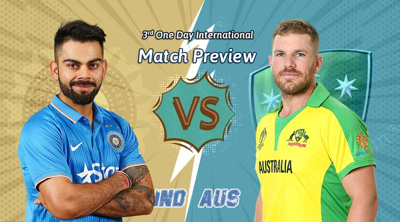 india vs australia 3rd odi 2020 pitch report