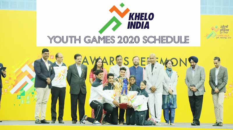 khelo india youth games 2020 schedule
