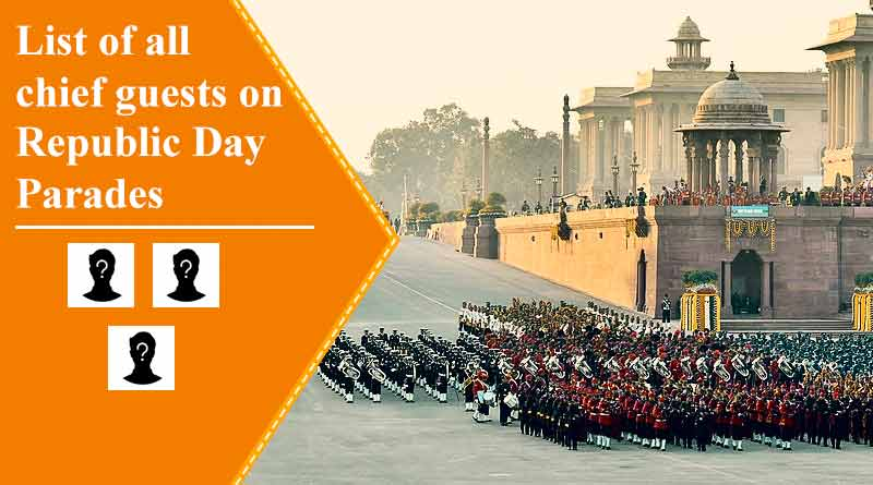 list of chief guest on republic day parade till now