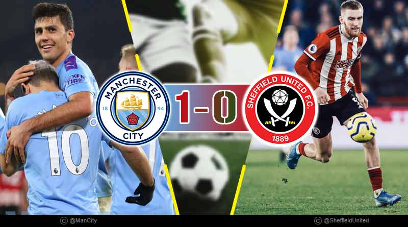 premier league 2020 manchester city vs sheffield united highlights