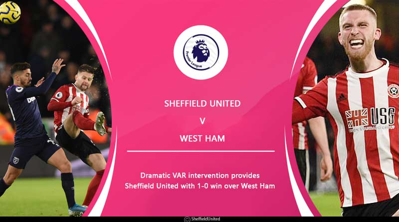 premier league 2020 sheffield united vs west ham highlights
