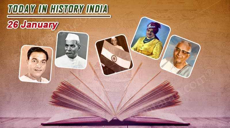 today in history india 26 january
