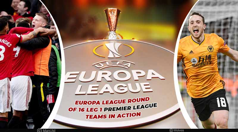europa league round of 16 2020 match results