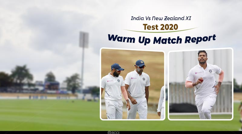 india vs new zealand XI test 2020 day 2 highlights
