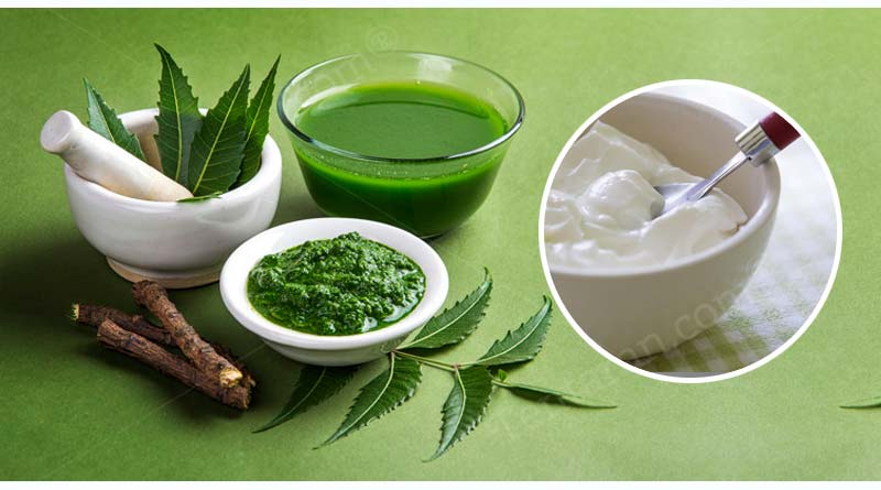 neem and curd