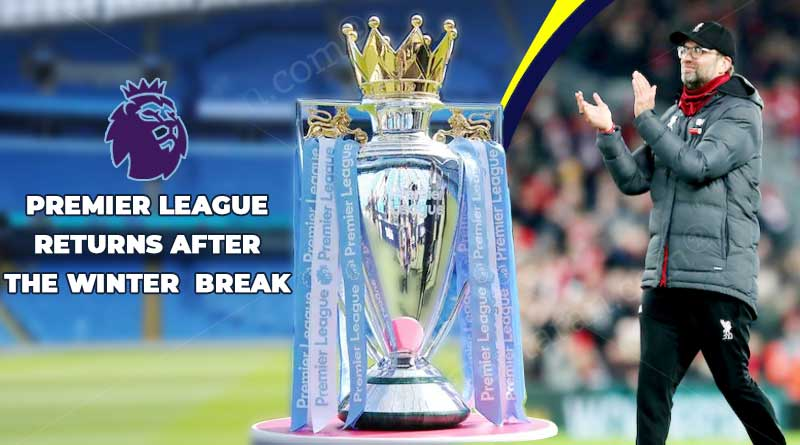 premier league 2020 winter break results