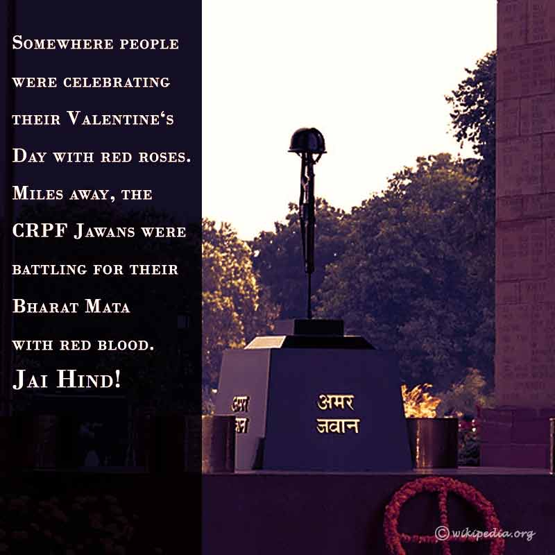 pulwama attack quotes status images whatsapp photos 3