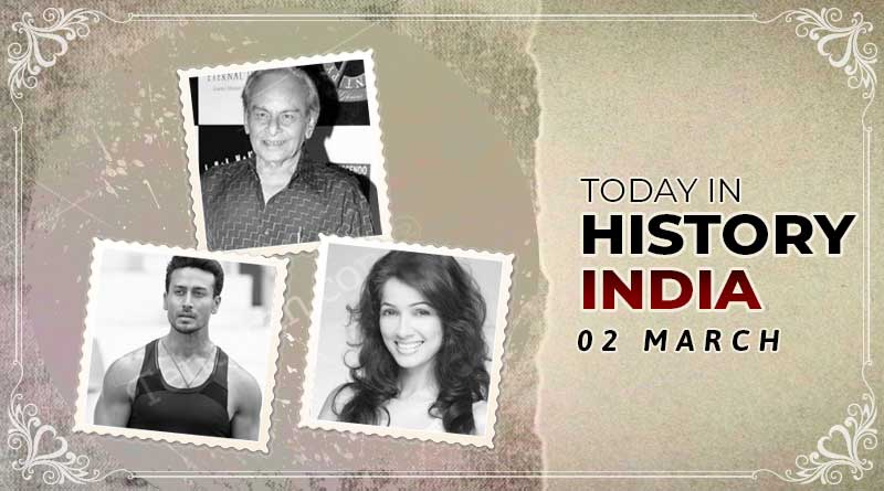 today in history india 2 march