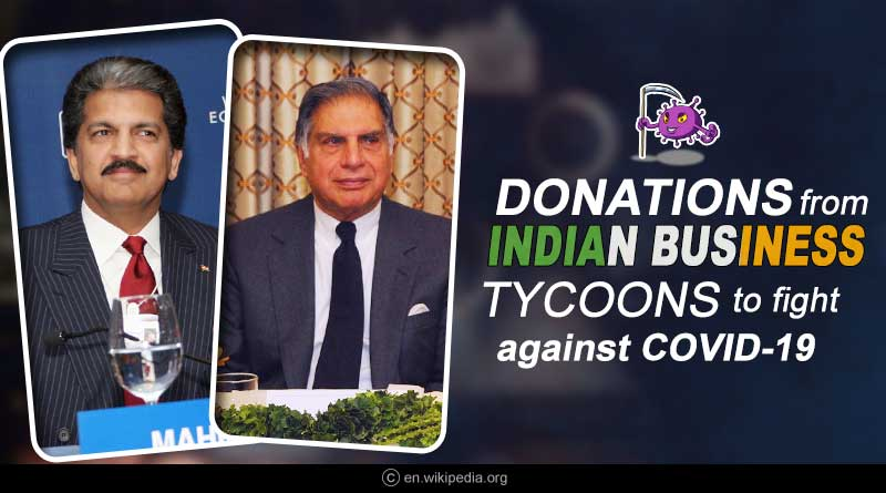 pm cares fund donations by businessmen