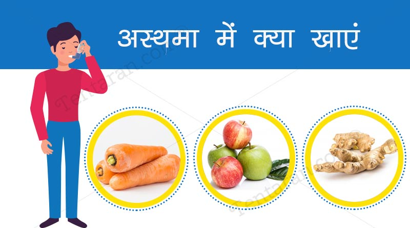 healthy diet for asthma patients in hindi