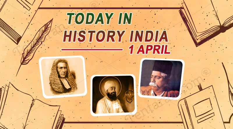 1 april in indian history