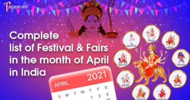 Events List: Upcoming Festivals and Fairs of India in April 2021