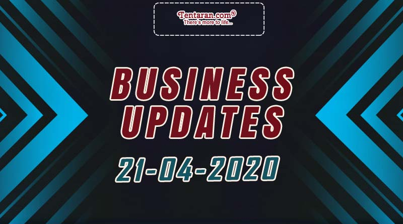 latest india business news 21st april 2020