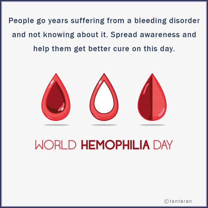 world haemophilia day images11