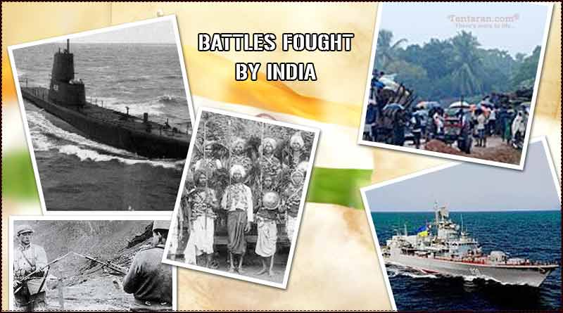 battles fought by India after independence