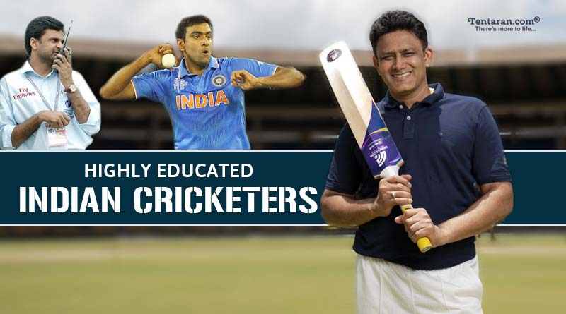 highly educated Indian cricketers