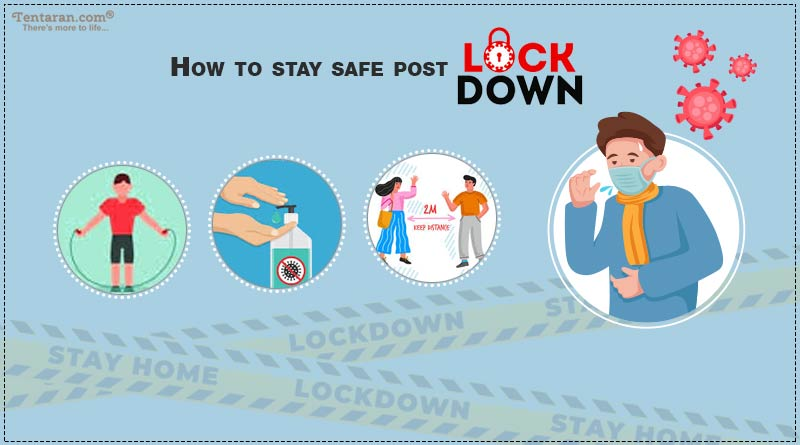 how to stay safe after lockdown
