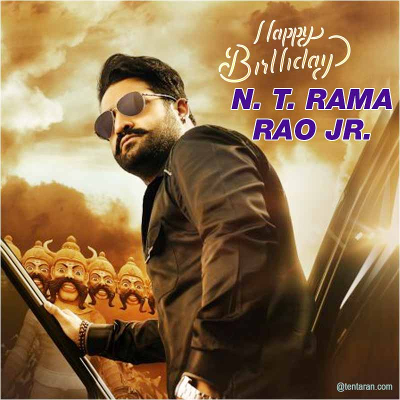 n t rama rao jr birthday wishes images1