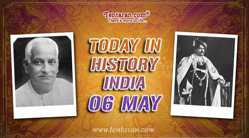 today in history india 6 may
