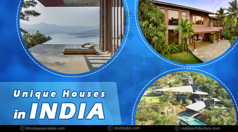 unique houses in india