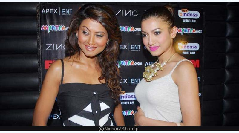 Gauhar Khan and Nigaar Khan