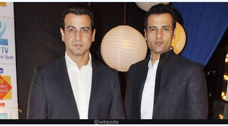 Ronit Roy and Rohit Roy
