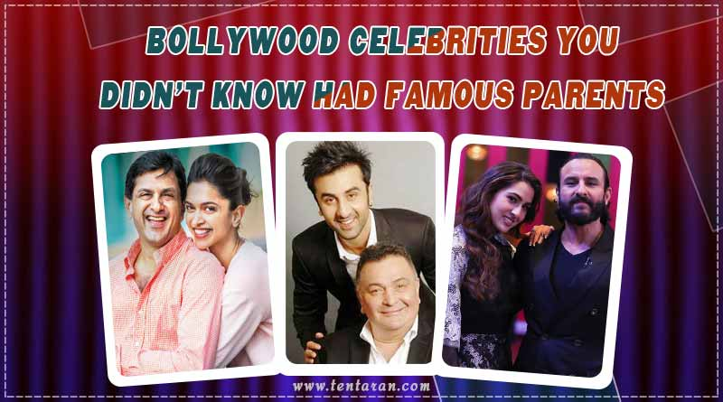 bollywood celebrities with famous parents
