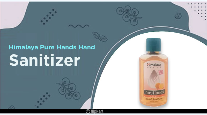 himalaya pure hands sanitizer bottle