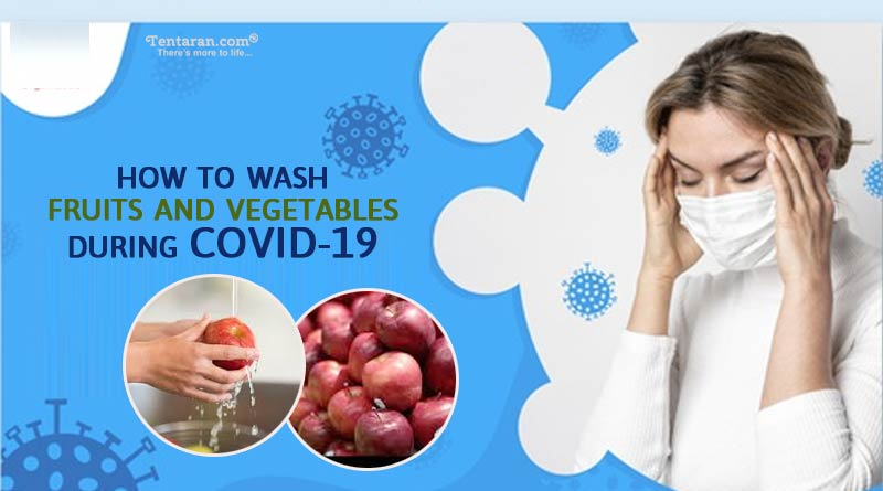 how to wash fruits and vegetables during coronavirus