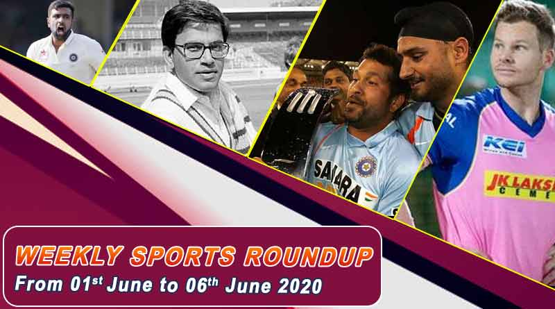 sports weekly roundup 1st to 6th june 2020