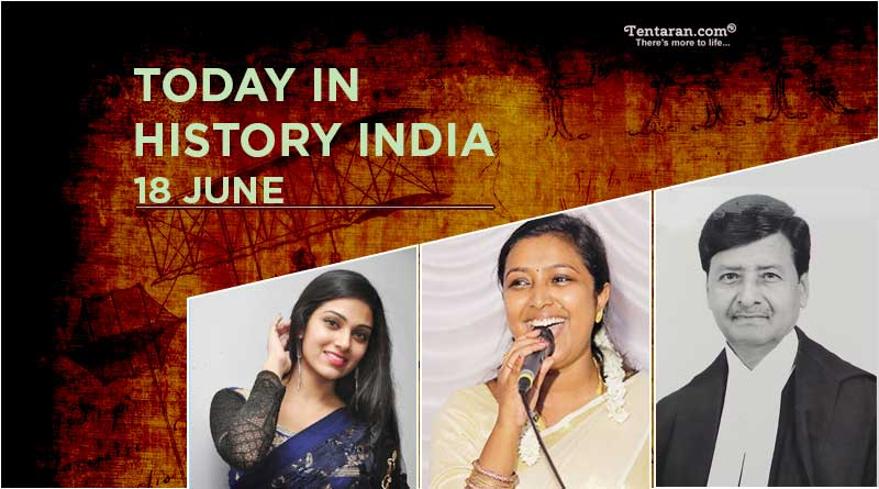 today in history india 18 june