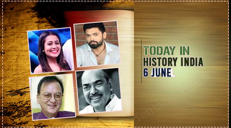 6 june in indian history