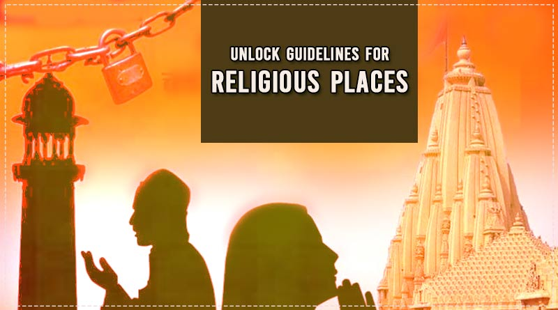 unlock guidelines for religious places