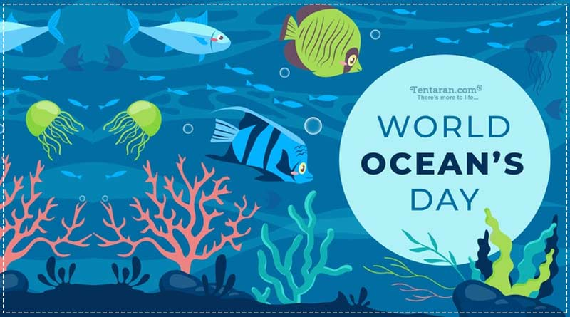 World ocean day 2020 theme quotes images, slogan, poster, status, sms